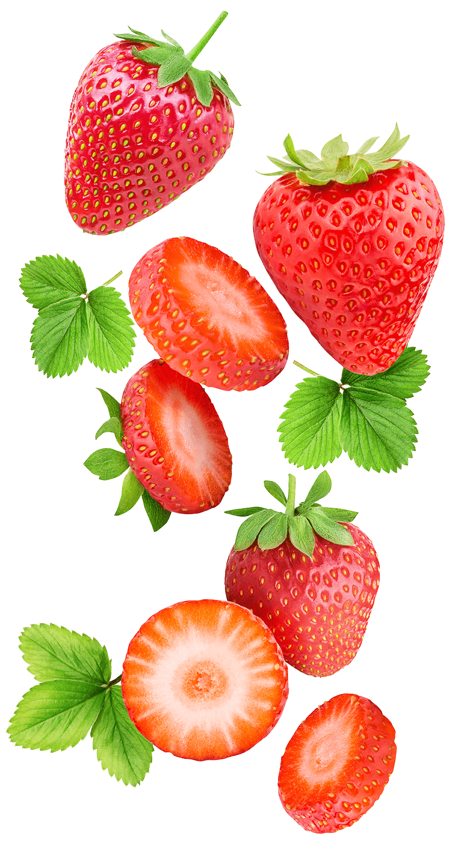 Flying strawberries
